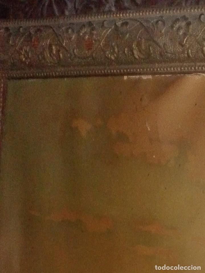 Arte: Lámina enmarcada. Orientalista.siglo XIX. - Foto 2 - 134551606