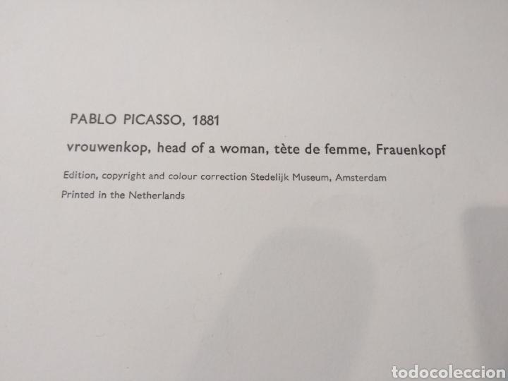 Arte: PABLO PICASSO,1981 CABEZA DE MUJER EDICIÓN MUSEO STEDELIJK - Foto 3 - 135690010