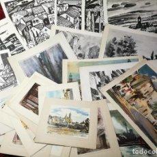 Arte: 26 LAMINAS ORIGINALES LLOVERAS-CASALS-SABATE- FRESQUET-SEGRELLES-ETC--VER FOTOS. Lote 135723347
