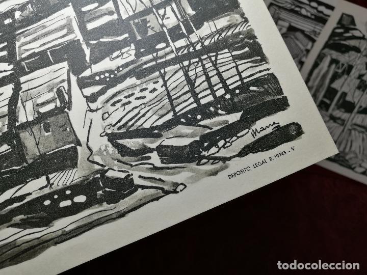 Arte: 26 laminas originales LLOVERAS-CASALS-SABATE- FRESQUET-SEGRELLES-ETC--VER FOTOS - Foto 2 - 135723347