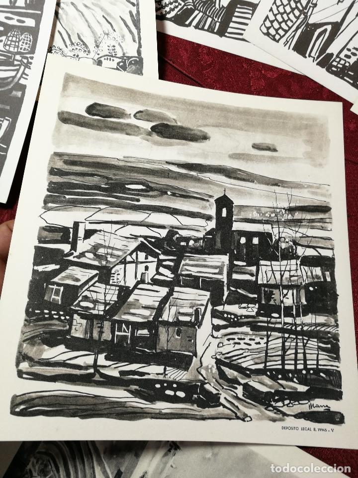 Arte: 26 laminas originales LLOVERAS-CASALS-SABATE- FRESQUET-SEGRELLES-ETC--VER FOTOS - Foto 3 - 135723347
