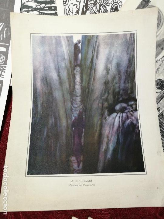 Arte: 26 laminas originales LLOVERAS-CASALS-SABATE- FRESQUET-SEGRELLES-ETC--VER FOTOS - Foto 7 - 135723347
