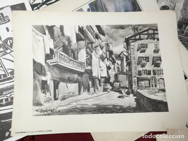 Arte: 26 laminas originales LLOVERAS-CASALS-SABATE- FRESQUET-SEGRELLES-ETC--VER FOTOS - Foto 8 - 135723347