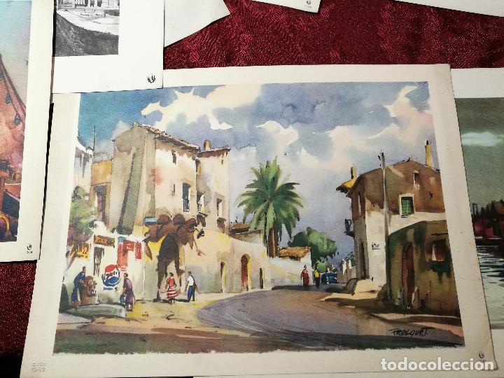 Arte: 26 laminas originales LLOVERAS-CASALS-SABATE- FRESQUET-SEGRELLES-ETC--VER FOTOS - Foto 9 - 135723347