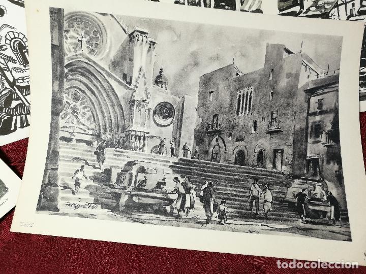 Arte: 26 laminas originales LLOVERAS-CASALS-SABATE- FRESQUET-SEGRELLES-ETC--VER FOTOS - Foto 10 - 135723347