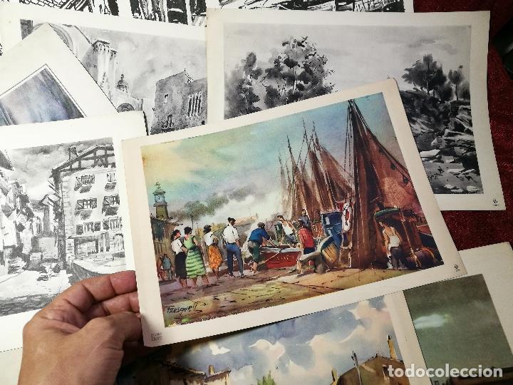 Arte: 26 laminas originales LLOVERAS-CASALS-SABATE- FRESQUET-SEGRELLES-ETC--VER FOTOS - Foto 11 - 135723347