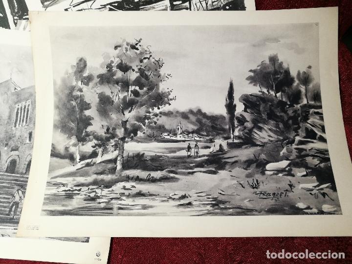 Arte: 26 laminas originales LLOVERAS-CASALS-SABATE- FRESQUET-SEGRELLES-ETC--VER FOTOS - Foto 12 - 135723347