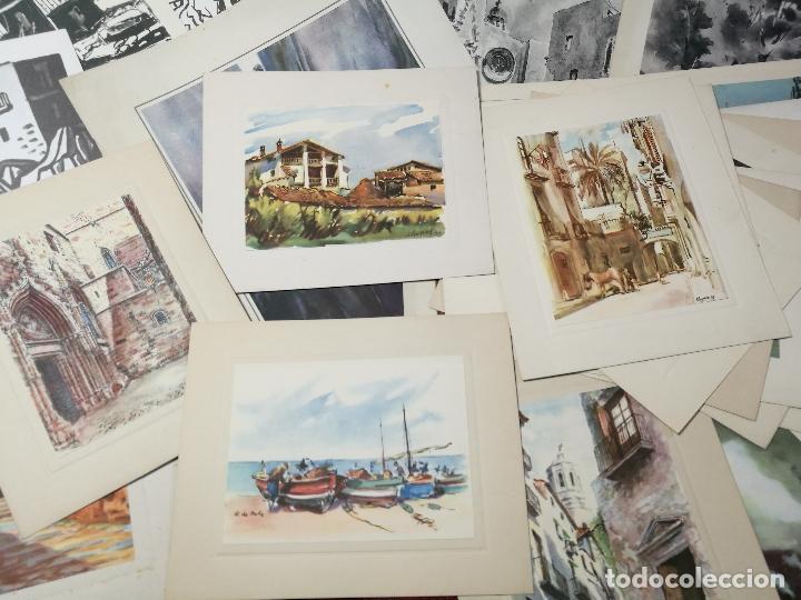 Arte: 26 laminas originales LLOVERAS-CASALS-SABATE- FRESQUET-SEGRELLES-ETC--VER FOTOS - Foto 13 - 135723347