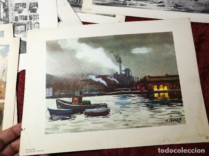 Arte: 26 laminas originales LLOVERAS-CASALS-SABATE- FRESQUET-SEGRELLES-ETC--VER FOTOS - Foto 14 - 135723347
