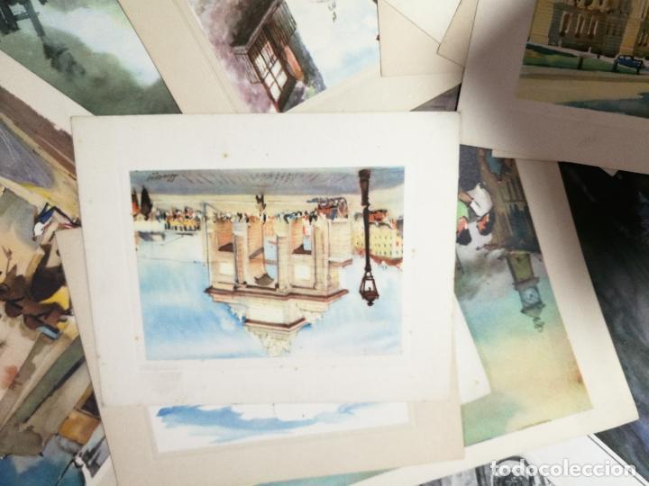 Arte: 26 laminas originales LLOVERAS-CASALS-SABATE- FRESQUET-SEGRELLES-ETC--VER FOTOS - Foto 15 - 135723347