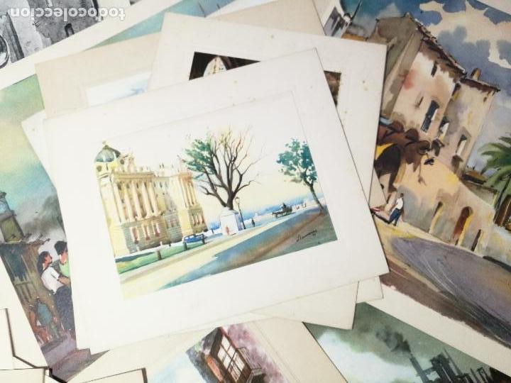 Arte: 26 laminas originales LLOVERAS-CASALS-SABATE- FRESQUET-SEGRELLES-ETC--VER FOTOS - Foto 18 - 135723347
