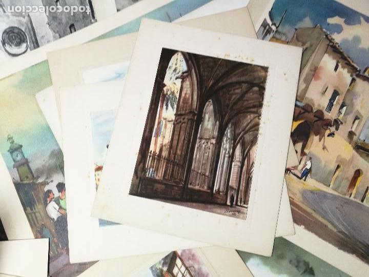 Arte: 26 laminas originales LLOVERAS-CASALS-SABATE- FRESQUET-SEGRELLES-ETC--VER FOTOS - Foto 19 - 135723347