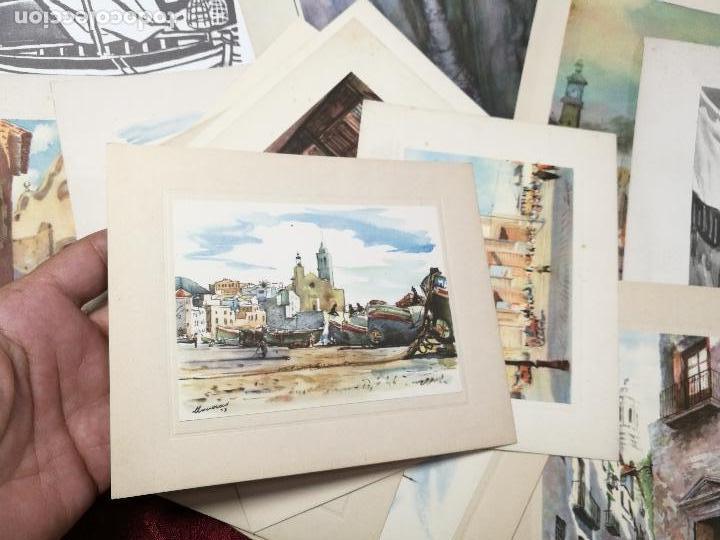 Arte: 26 laminas originales LLOVERAS-CASALS-SABATE- FRESQUET-SEGRELLES-ETC--VER FOTOS - Foto 20 - 135723347