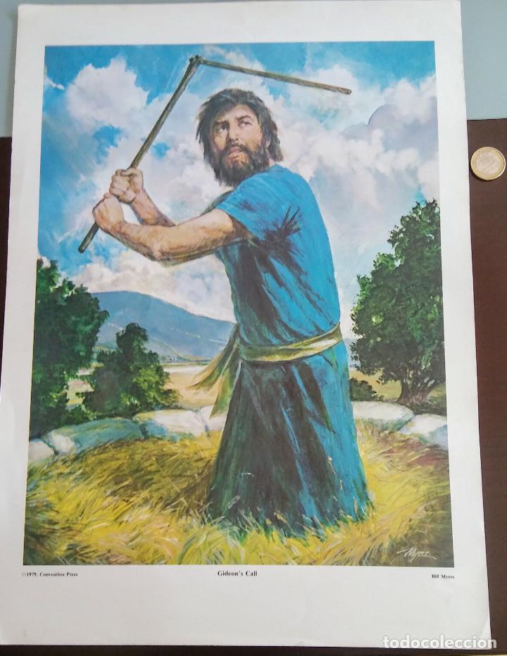 LAMINA DE UNA GRAN CALIDAD DE BILL MYERS AÑO 1.979 (Arte - Láminas Antiguas)