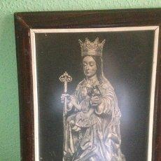 Arte: CUADRO DE LA VIRGEN DE MÁLAGA, ANTIGUO. Lote 137419896