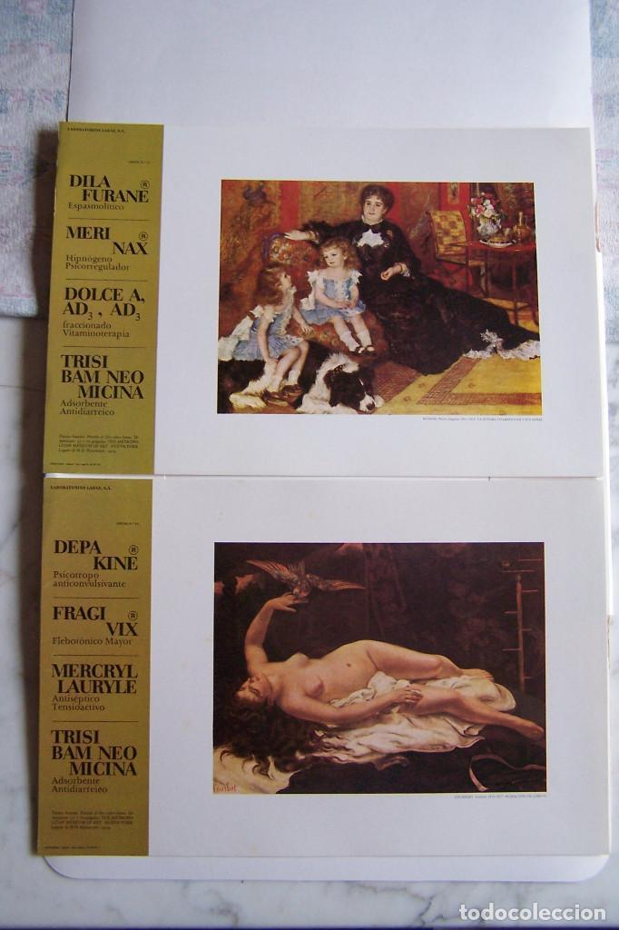 Arte: COLECCIÓN DEL MUSEO METROPOLITAN DE NEW YORK. LABORATORIOS LABAZ. CONTIENE 19 LÁMINAS. - Foto 12 - 139453958