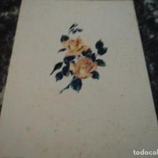 Arte: ROSAS. NOBLOM GALERIAS COSTA 17 X 23 CM. Lote 140263634
