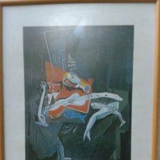 Arte: POSTER - LAMINA - PESCADO Y BALCON 1927 - SALVADOR DALI - EDICIONES DASA S.A. COLECCION PARTICULAR. Lote 140534724