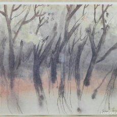 Arte: ANDREU FRESQUET - LAMINA IMPRESA 42 X 30. Lote 140582206