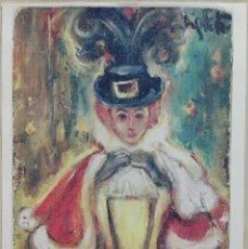 Arte: MIQUEL FUSTER (MIGUEL FUSTER) - LAMINA IMPRESA 42 X 30. Lote 140582526
