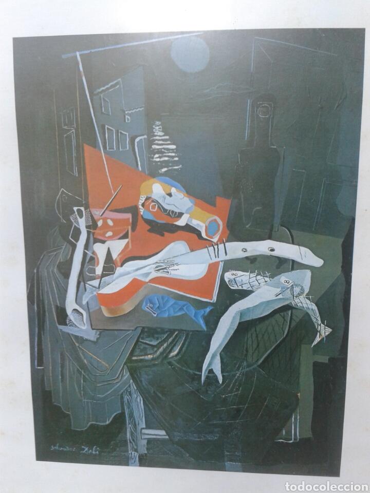 Arte: POSTER - LAMINA - PESCADO Y BALCON 1927 - SALVADOR DALI - EDICIONES DASA S.A. COLECCION PARTICULAR - Foto 3 - 140534724