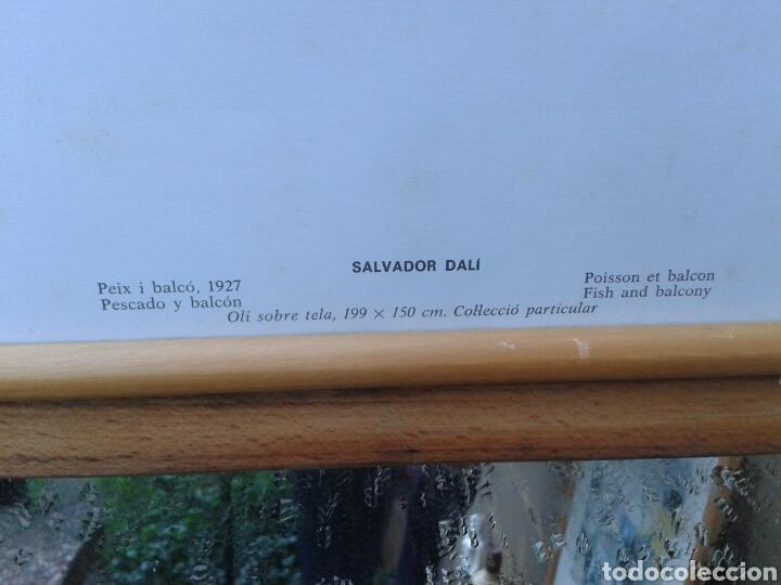 Arte: POSTER - LAMINA - PESCADO Y BALCON 1927 - SALVADOR DALI - EDICIONES DASA S.A. COLECCION PARTICULAR - Foto 4 - 140534724