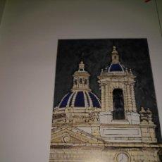 Arte: LAMINA ARTE + PAPEL VEGETAL - PINTURA - CADIZ - PINTOR - MIGUEL ANGEL VALENCIA - IGLESIA DE SAN JOSE. Lote 141879674