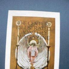 Arte: LAMINA - CARTELES ARTISTICOS - THE CENTURY ILLUSTRATED MONTHLY MAGAZINE . . Lote 142146138
