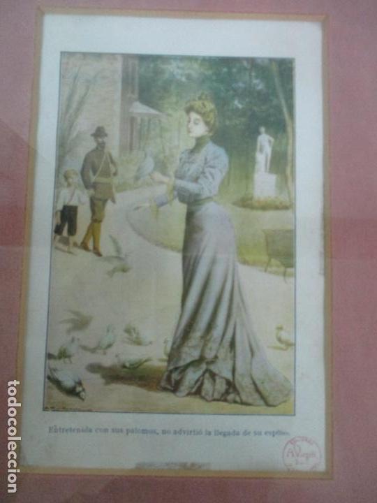 Arte: 12 Escenas de Género - V. Giné, A. Seriña, J. Cantarell - Ediciones A. Virgili - Finales S. XIX - Foto 3 - 143368822