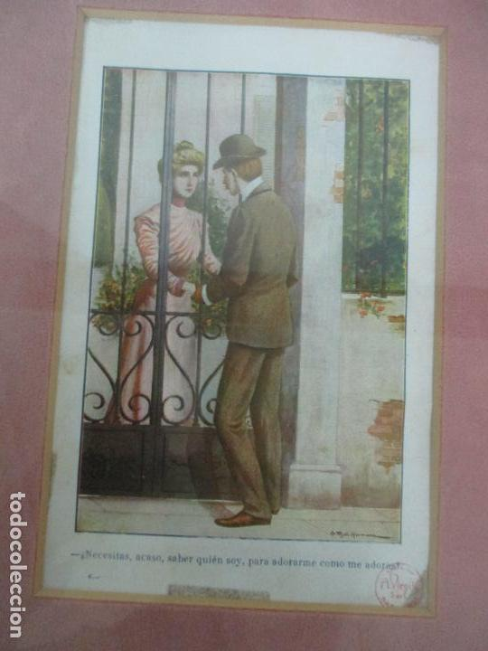 Arte: 12 Escenas de Género - V. Giné, A. Seriña, J. Cantarell - Ediciones A. Virgili - Finales S. XIX - Foto 5 - 143368822