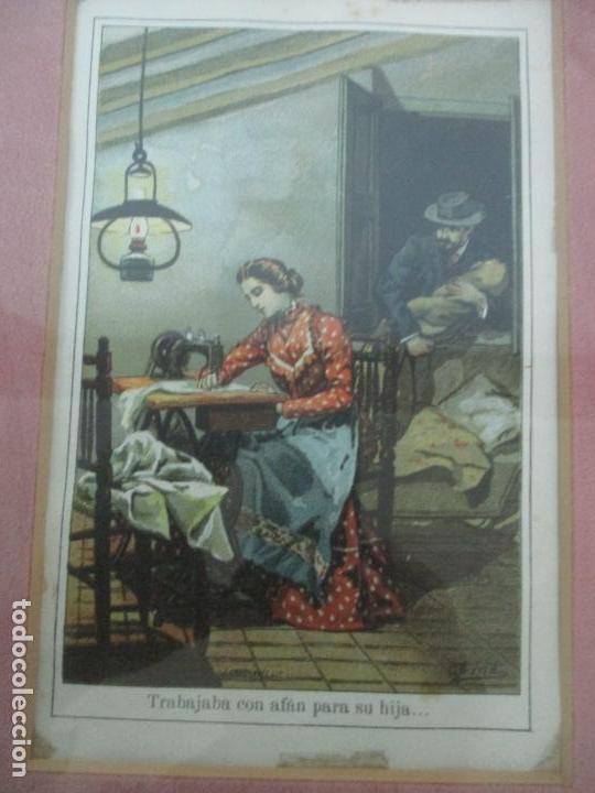 Arte: 12 Escenas de Género - V. Giné, A. Seriña, J. Cantarell - Ediciones A. Virgili - Finales S. XIX - Foto 6 - 143368822