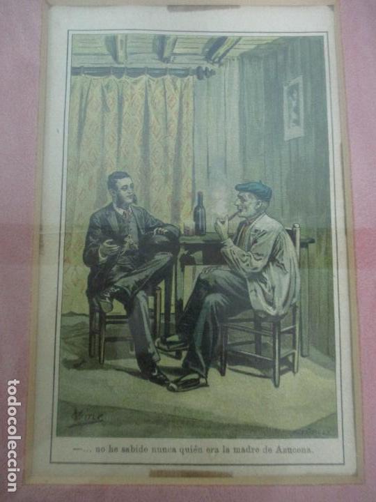 Arte: 12 Escenas de Género - V. Giné, A. Seriña, J. Cantarell - Ediciones A. Virgili - Finales S. XIX - Foto 7 - 143368822