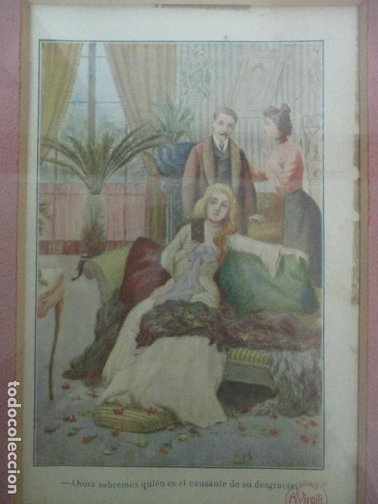Arte: 12 Escenas de Género - V. Giné, A. Seriña, J. Cantarell - Ediciones A. Virgili - Finales S. XIX - Foto 8 - 143368822