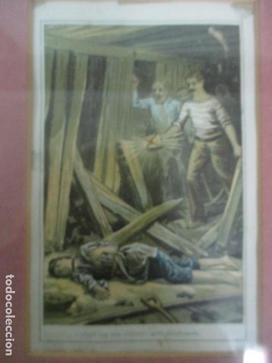 Arte: 12 Escenas de Género - V. Giné, A. Seriña, J. Cantarell - Ediciones A. Virgili - Finales S. XIX - Foto 14 - 143368822