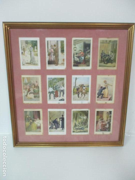 Arte: 12 Escenas de Género - V. Giné, A. Seriña, J. Cantarell - Ediciones A. Virgili - Finales S. XIX - Foto 16 - 143368822