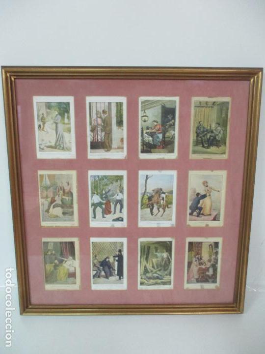 Arte: 12 Escenas de Género - V. Giné, A. Seriña, J. Cantarell - Ediciones A. Virgili - Finales S. XIX - Foto 18 - 143368822