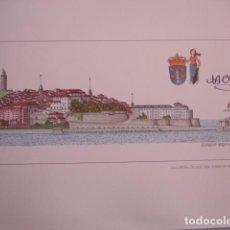 Arte: LA CORUÑA CIUDAD VIEJA.VISTA EN PAPEL DE GRAN CALIDAD 2006 .41X15.5 PARDO VALDES. Lote 143975658