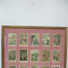 Arte: 12 ESCENAS DE GÉNERO - V. GINÉ, A. SERIÑA, J. CANTARELL - EDICIONES A. VIRGILI - FINALES S. XIX. Lote 144481358
