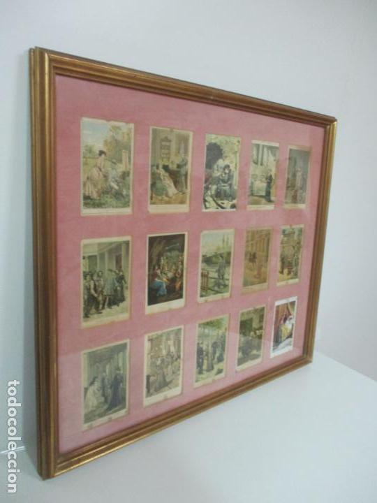 Arte: 12 Escenas de Género - V. Giné, A. Seriña, J. Cantarell - Ediciones A. Virgili - Finales S. XIX - Foto 2 - 144481358