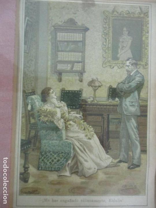 Arte: 12 Escenas de Género - V. Giné, A. Seriña, J. Cantarell - Ediciones A. Virgili - Finales S. XIX - Foto 5 - 144481358