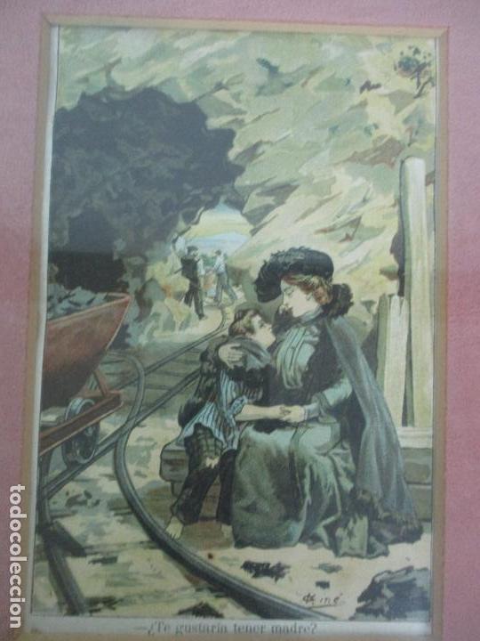 Arte: 12 Escenas de Género - V. Giné, A. Seriña, J. Cantarell - Ediciones A. Virgili - Finales S. XIX - Foto 7 - 144481358