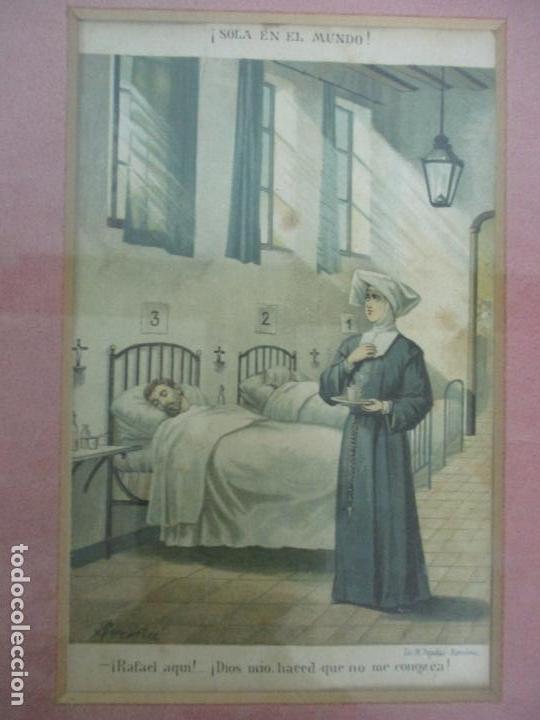 Arte: 12 Escenas de Género - V. Giné, A. Seriña, J. Cantarell - Ediciones A. Virgili - Finales S. XIX - Foto 8 - 144481358