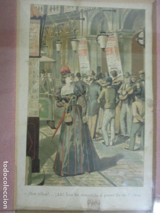 Arte: 12 Escenas de Género - V. Giné, A. Seriña, J. Cantarell - Ediciones A. Virgili - Finales S. XIX - Foto 14 - 144481358