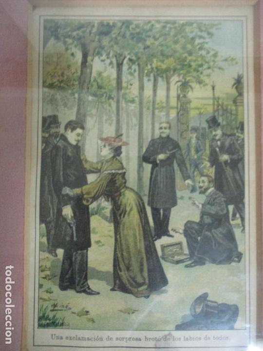 Arte: 12 Escenas de Género - V. Giné, A. Seriña, J. Cantarell - Ediciones A. Virgili - Finales S. XIX - Foto 15 - 144481358