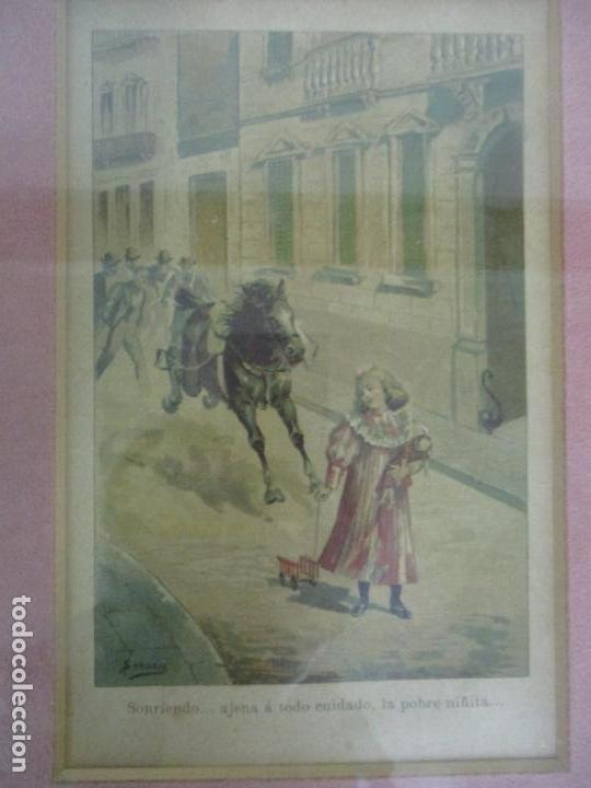 Arte: 12 Escenas de Género - V. Giné, A. Seriña, J. Cantarell - Ediciones A. Virgili - Finales S. XIX - Foto 16 - 144481358