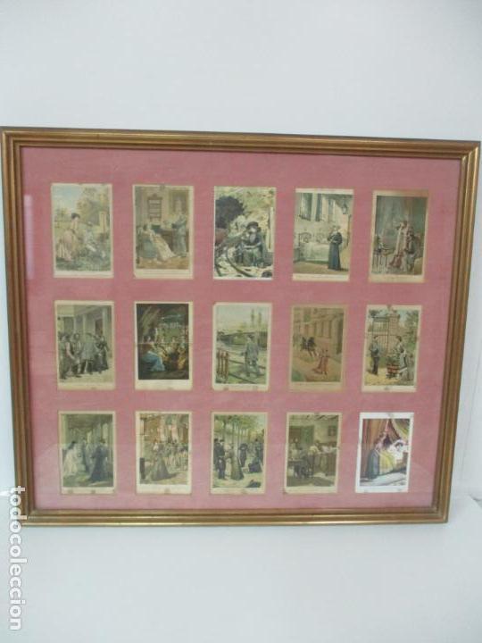 Arte: 12 Escenas de Género - V. Giné, A. Seriña, J. Cantarell - Ediciones A. Virgili - Finales S. XIX - Foto 25 - 144481358