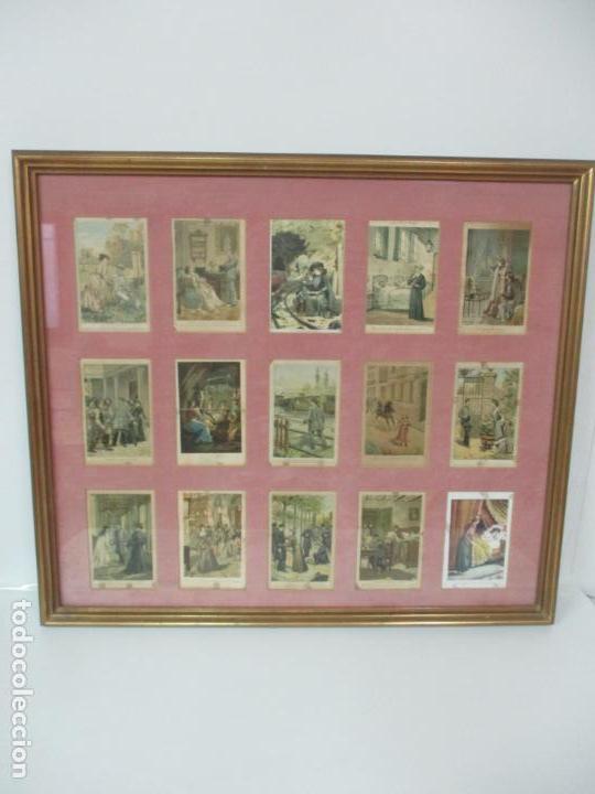 Arte: 12 Escenas de Género - V. Giné, A. Seriña, J. Cantarell - Ediciones A. Virgili - Finales S. XIX - Foto 27 - 144481358