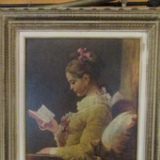 Arte: LA JOVEN LECTORA DE FRAGONARD. Lote 146502698