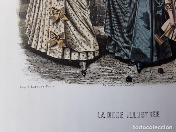 Arte: Lámina La Mode Illustrée. La moda ilustrada - Foto 3 - 147217054