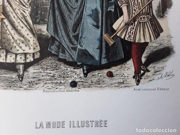 Arte: Lámina La Mode Illustrée. La moda ilustrada - Foto 4 - 147217054